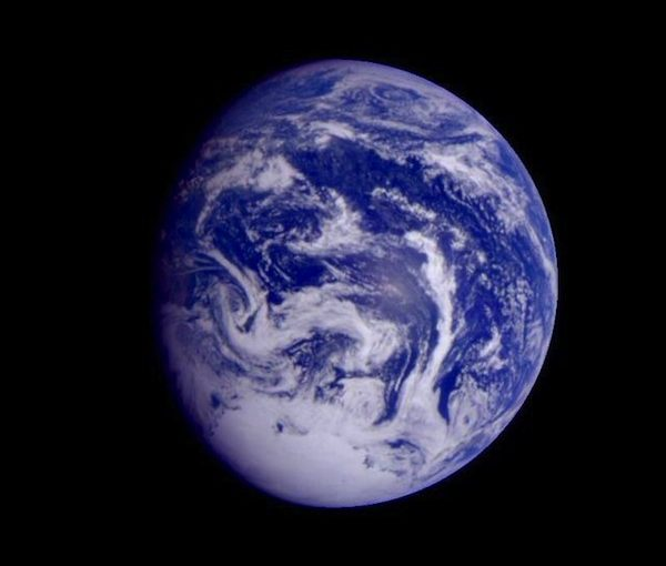 photo - This colour image was obtained by NASA's Galileo spacecraft early Dec. 12, 1990, when the spacecraft was about 1.6 million miles from the earth