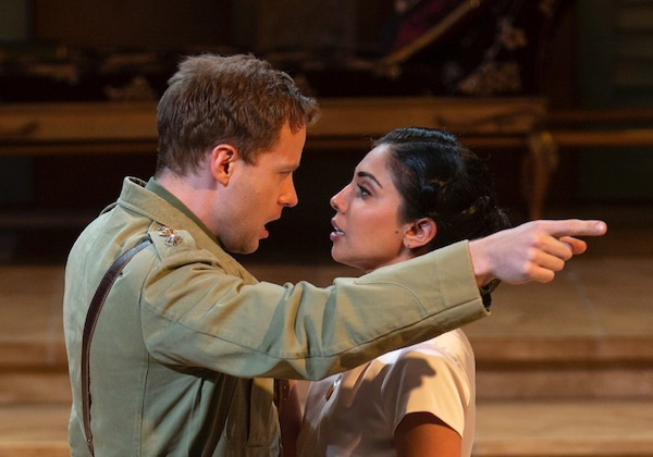 photo - Edmund Stapleton and Sarena Parmar in All's Well that Ends Well