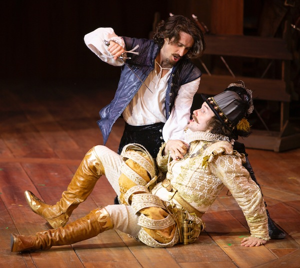 photo - Charlie Gallant, left, and Anton Lipovetsky in Shakespeare in Love