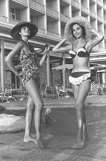 photo - Gottex Israeli fashion house, Tel Aviv, 1961