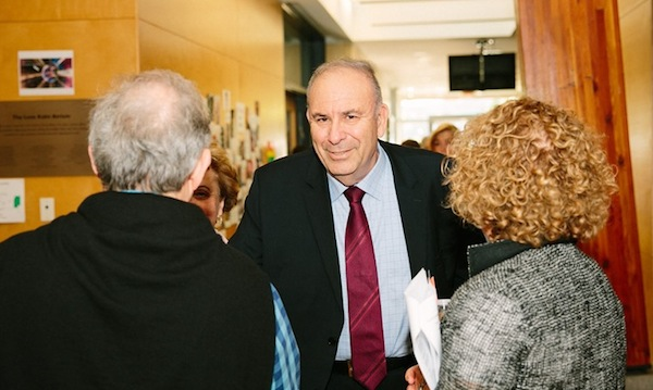 photo - Ambassador Nimrod Barkan at Jewish Federation of Greater Vancouver's annual general meeting on June 18