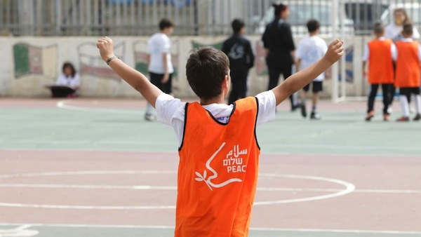 photo - A participant in Playing Fair, Leading Peace in Jaffa