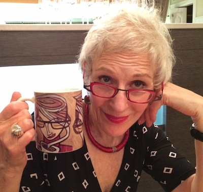 photo - Old-ish is Susan Freedman's fifth one-woman comedy