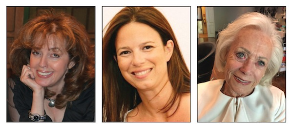 photos - Left to right, Sasha Gerson, Joanna Wasel and Frances Belzberg will be honoured by CHW on Sept. 22