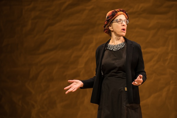 photo - Jackie Hoffman plays Yente the Matchmaker