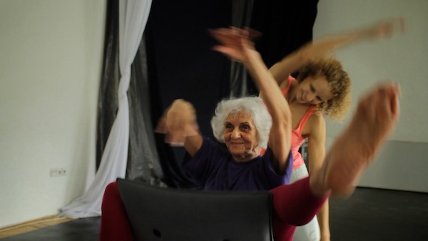 photo - Éva Fahidi, in front, and Emese Cuhorka in a still from The Euphoria of Being, directed and written by Réka Szabó
