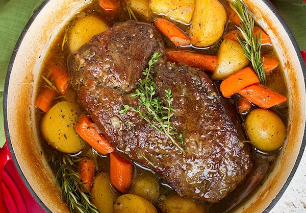 Pot roast for Rosh Hashanah