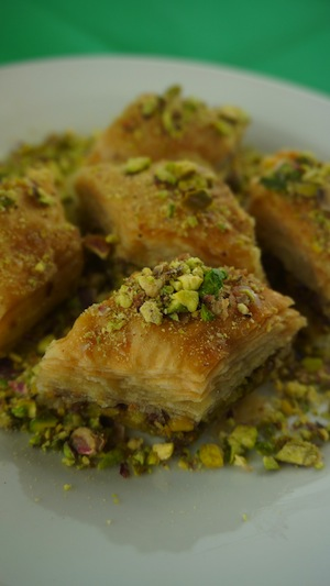 photo - Instead of honey cake, Greek Jews might have baklava for Rosh Hashanah dessert
