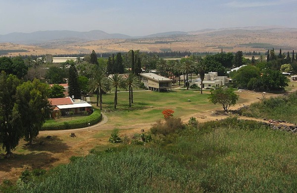 Kibbutz's beauty and history
