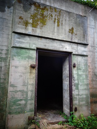 photo - The United States used Sitka as a defensive base in the Second World War. Ammunition magazines, gun emplacements and the headquarters command centre may still be seen at Fort Rousseau historic site