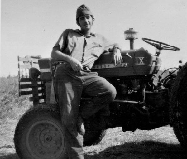 photo - The author was in the banana fields, working on the irrigation system, when the war started