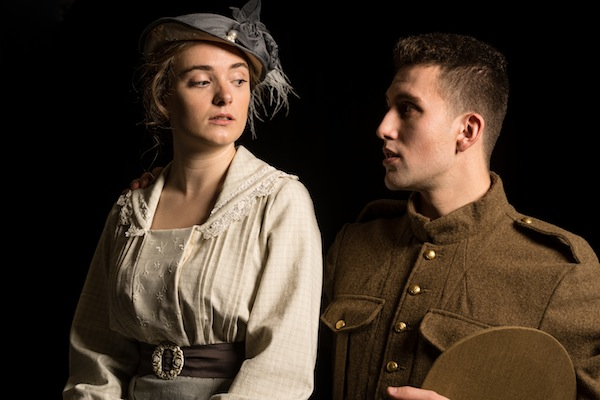 photo - Laura Reynolds and David Volpov in The Wars, which opens Nov. 7