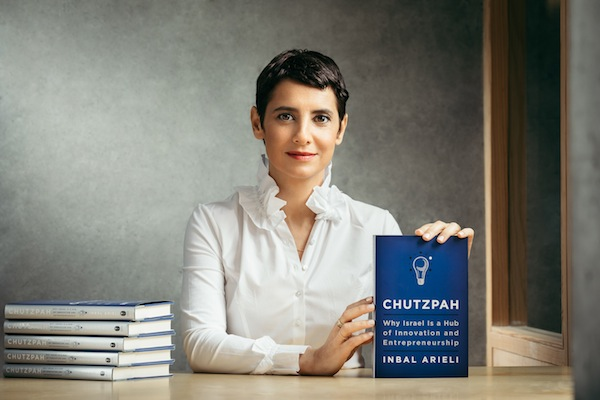 photo - Inbal Arieli recently published the book Chutzpah: Why Israel is a Hub of Innovation and Entrepreneurship