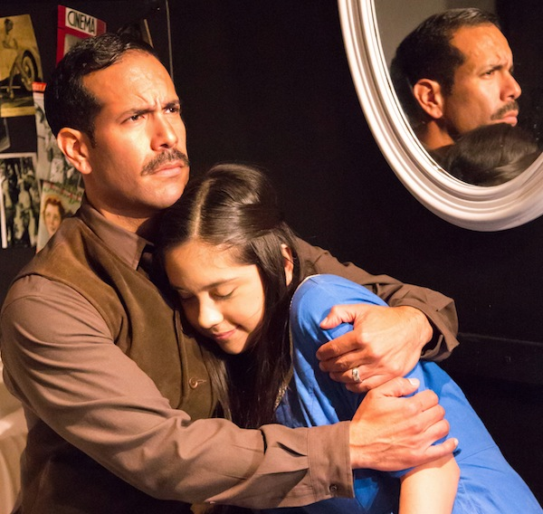 photo - Emiliano Torres and Genesis Ochoa in The Diary of Anne Frank LatinX, which will be at Chutzpah! Nov. 6-9