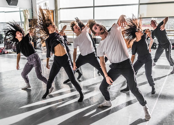 photo - Vision Impure in rehearsal for Pathways, which is at the Dance Centre Nov. 21