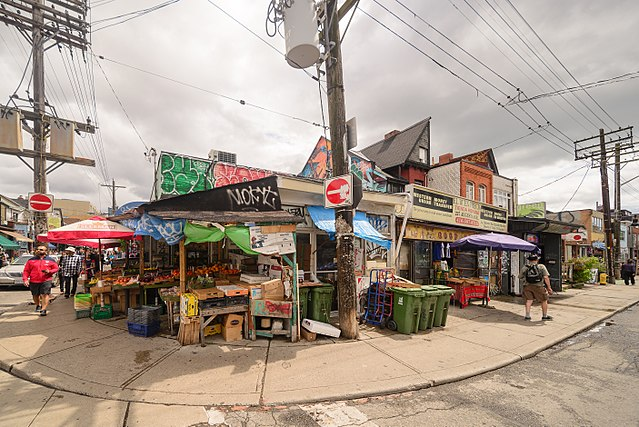 photo - Kensington Market neighbourhood
