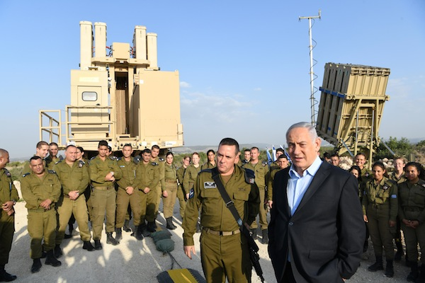 Iron Dome inspection