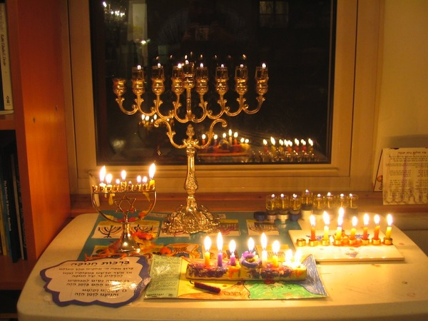 Spinning joy for Chanukah