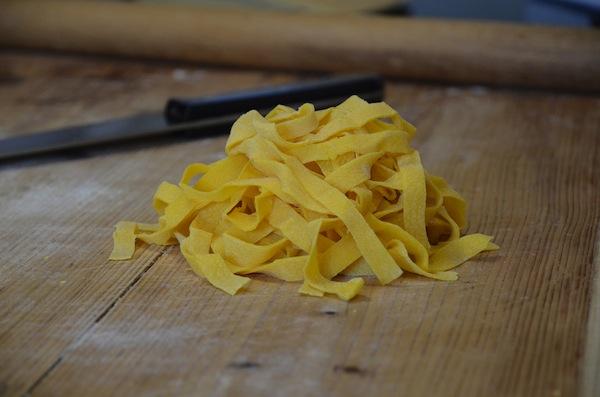 Trio of cheesy pastas
