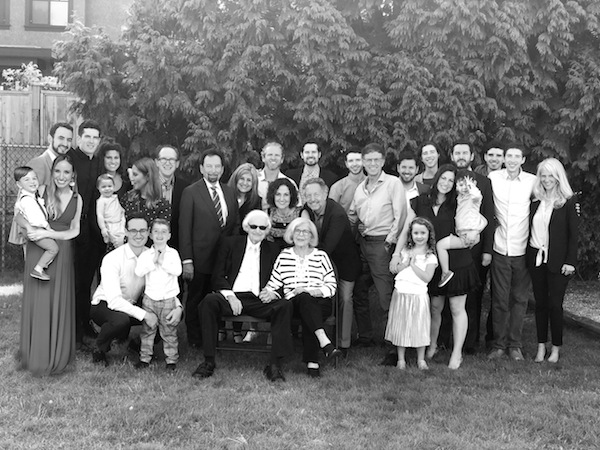 photo - Lou's family at the launch of Who's Lou?
