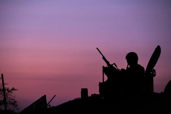 photo - Operation Protective Edge, on Aug. 3, 2014