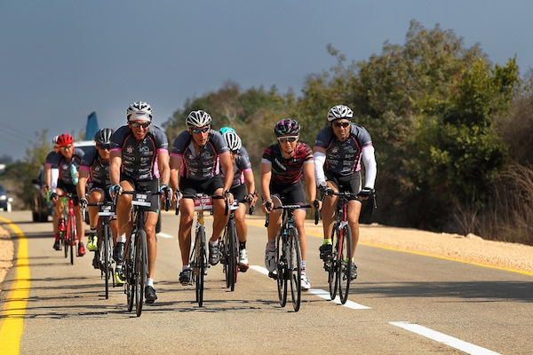 photo - Beit Halochem Canada's Courage in Motion saw many riders return to do the five-day annual cycle in Israel again