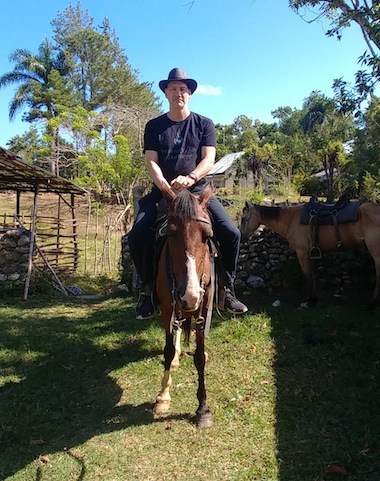 photo - Horsebacking riding is one of the many outdoor adventures one can take in the Puerto Plata area