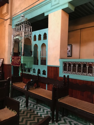 photo - The Orthodox synagogue Ibn Danan in Fez was built in the 17th century in the Jewish Quarter, known as the Mellah