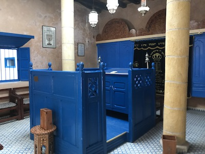 photo - Haim Pinto Synagogue in Essaouira is 212 years old