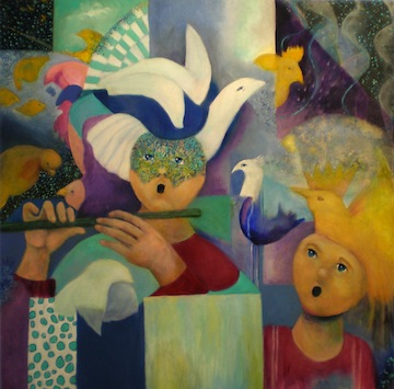 "image - ""Papageno"" by Janet Strayer, whose exhibit at the Zack Gallery runs until Jan. 5"