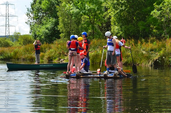 photo - For many kids, camp is the only time they find themselves in a less structured environment