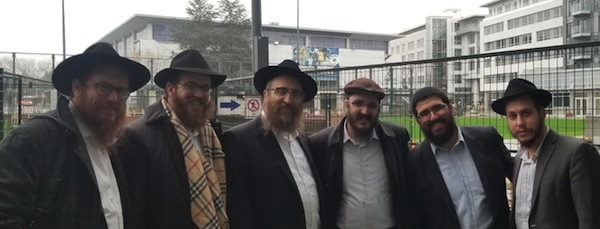 Colleagues visit Chabad UBC