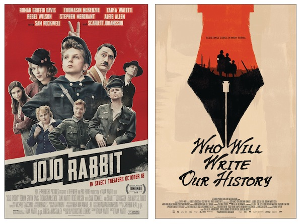 images - Taika Waititi's Jojo Rabbit and Roberta Grossman's documentary Who Will Write Our History were two standouts in Jewish film last year