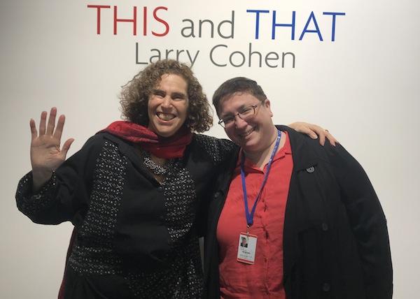 photo - Former Zack Gallery director Linda Lando, left, with new director Hope Forstenzer