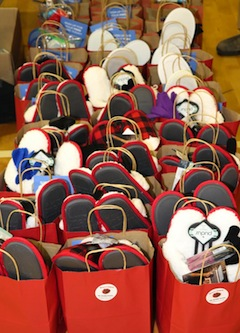 photo - More than 1,000 care packages were packaged on Feb. 16