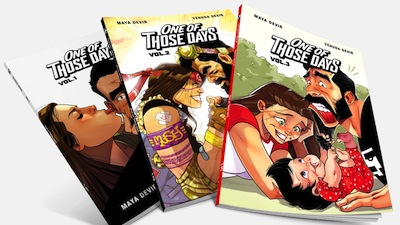 photo - The online shop sells three One of Those Days books, plus other merchandise