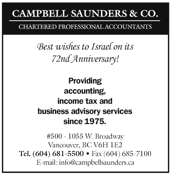 image - Campbell Saunders ad April 24 issue