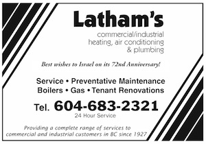 image - Latham's ad April 24 issue