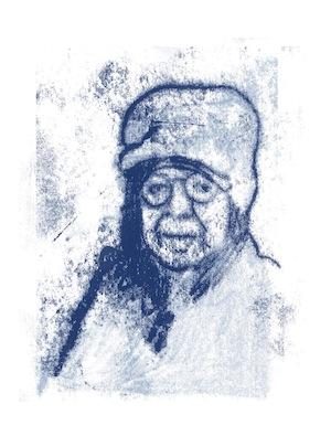 image - Gilad Seliktar drew this sketch of Rolf Kamp