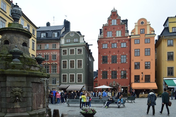 photo - Stockholm's neighbourhoods are pristinely preserved. This photo was taken last summer