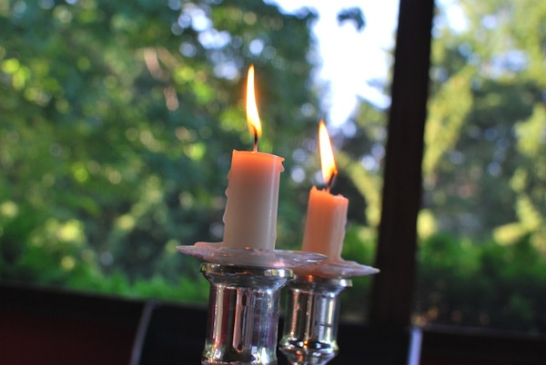 photo - Shabbat candles