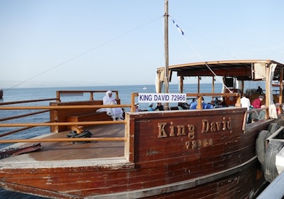 photo - Many passengers short, because of COVID-19 restrictions, 40 women were still able to sail on the King David across the Kinneret to Miriam's Well