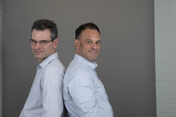 photo - Help Each Other Today's Ilya Goldman, left, and Carlos Taylhardat