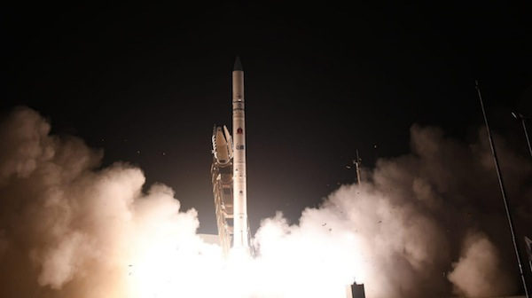 photo - On July 6, using a Shavit-2 rocket, Israel successfully launched the Ofek 16 reconnaissance satellite into Earth's orbit