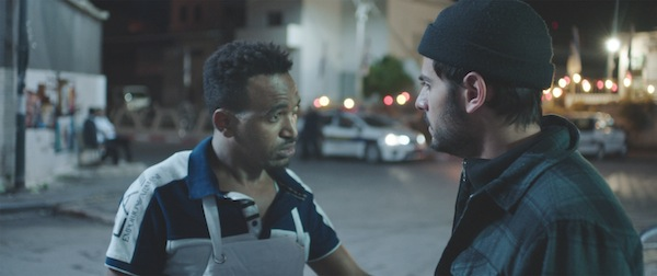 image - Dawit Tekelaeb, left, and Daniel Gad co-star in the short film White Eye