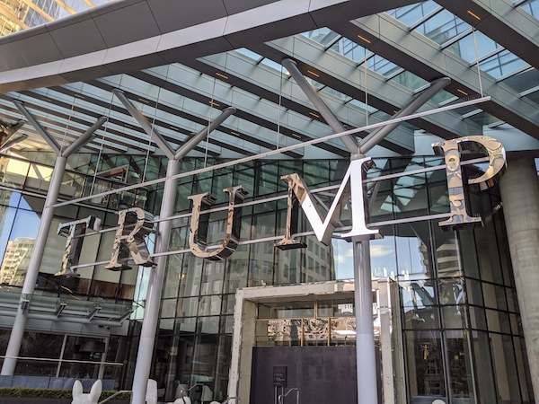 photo - Trump International Tower Hotel on Georgia Street in downtown Vancouver