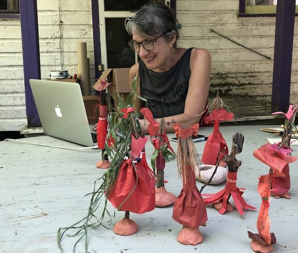 photo - Grounds for Goodness Downtown Eastside: Adventures in Digital Community Art Making, led by Ruth Howard, is part of the Downtown Eastside Heart of the City Festival, which starts Oct. 28