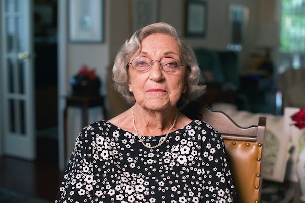 photo - Judy Weissenberg Cohen, at the age of 92, recently published her memoir, Cry in Unison