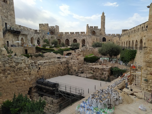 Tower of David conservation project underway