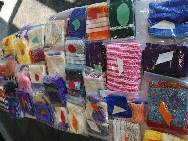 Legacy seniors knit gift